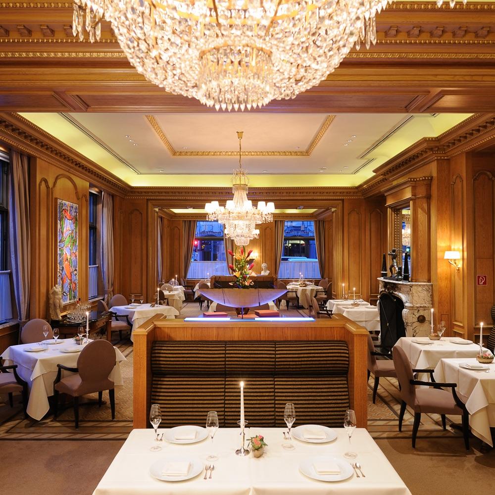 Fischers Fritz Restaurant Michelin Stern Berlin Gastraum