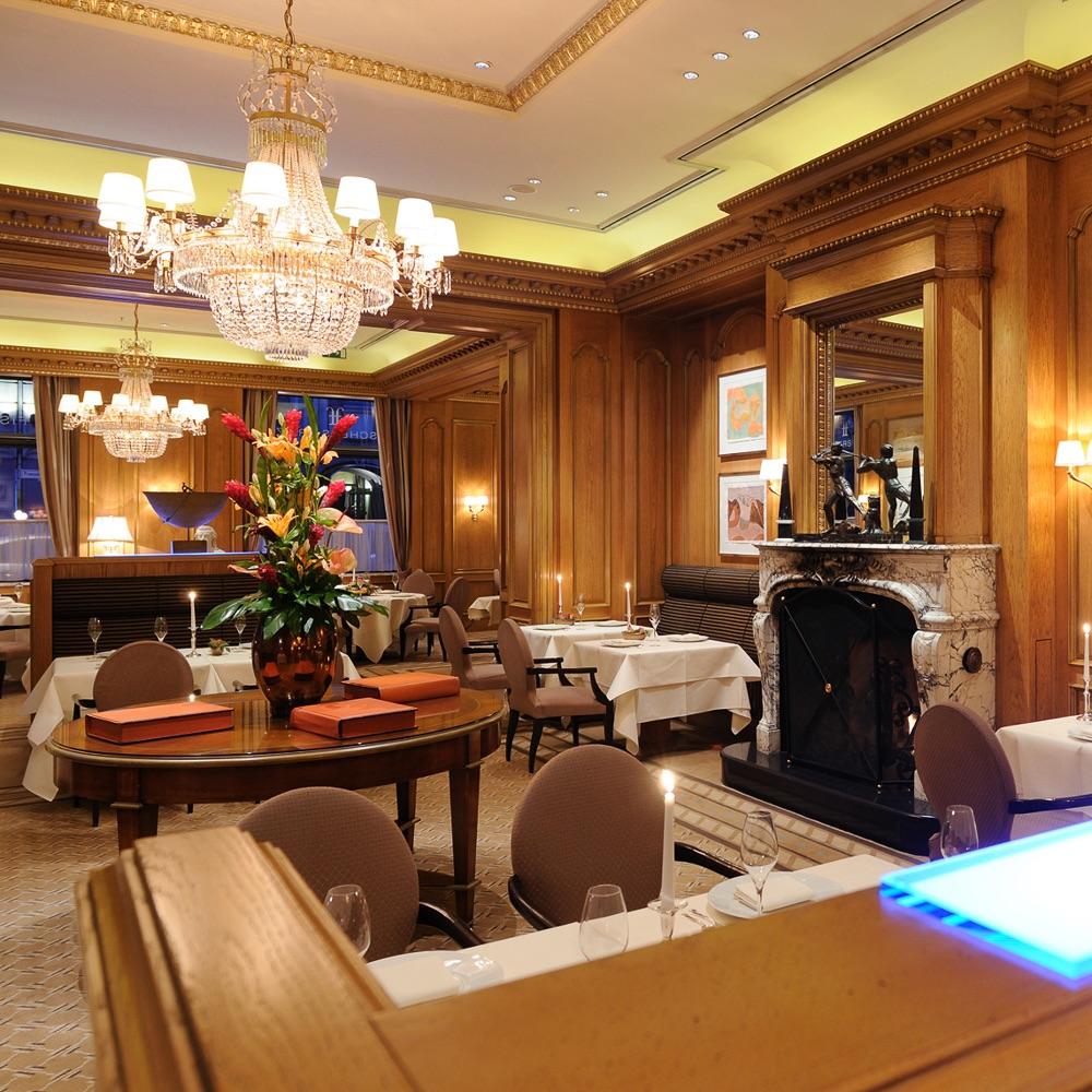 Fischers Fritz Restaurant Michelin Stern Berlin Interieur