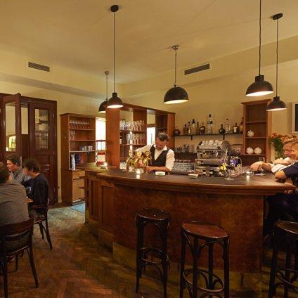 Restaurant Petz im Gusshaus Wien Tresen