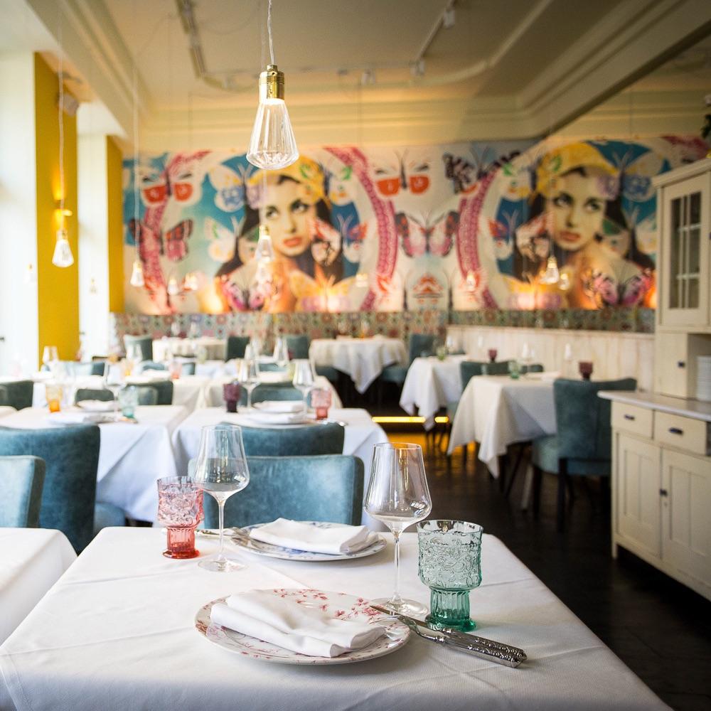 Mercado Restaurant Bar Wien Einrichtung