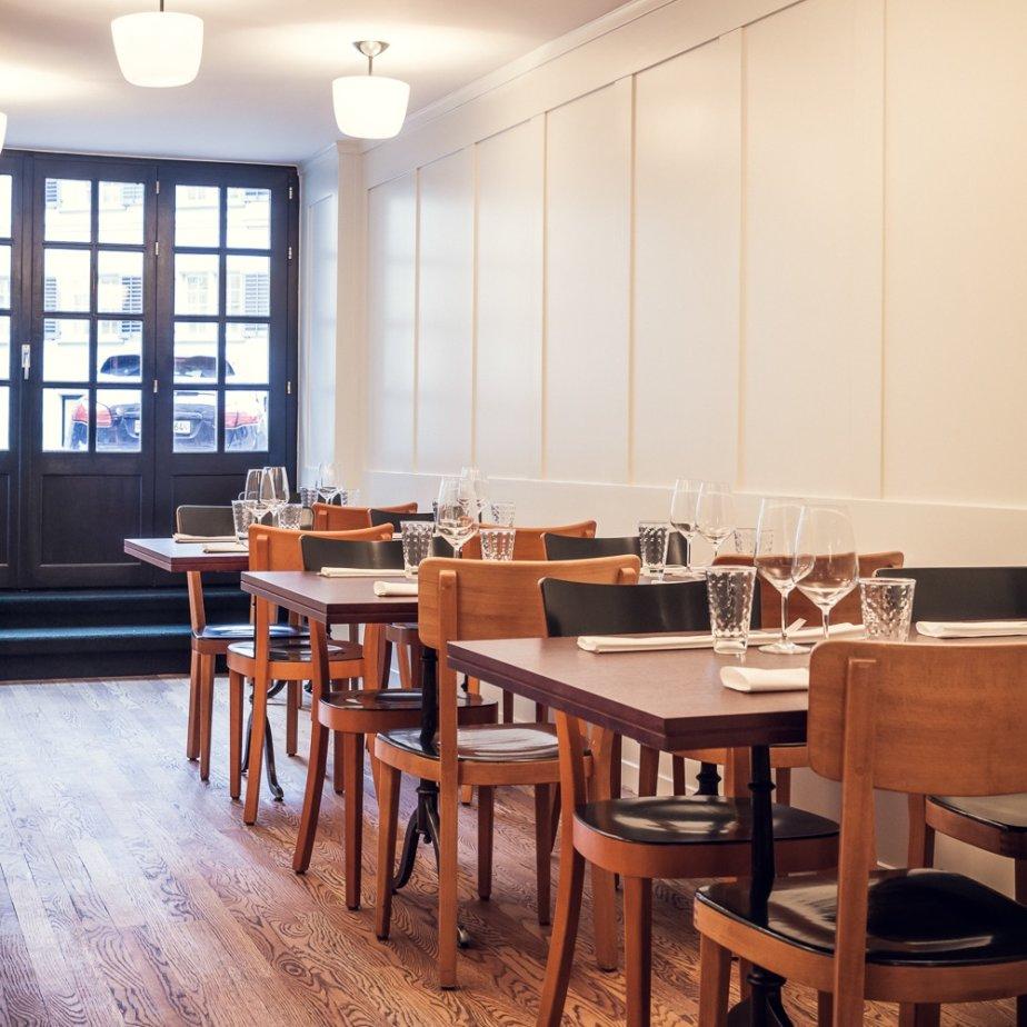 Münsterhof Restaurant Zürich Innenraum