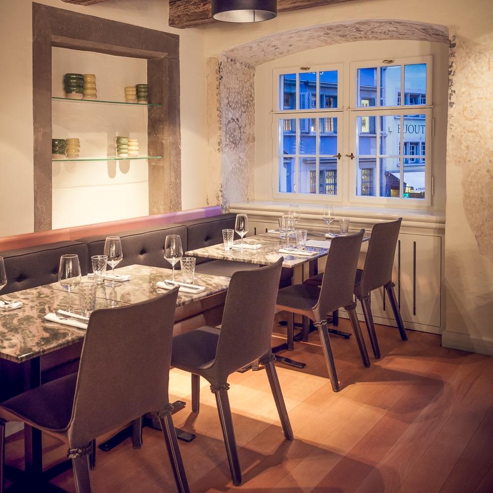 Münsterhof Restaurant Zürich Gastraum