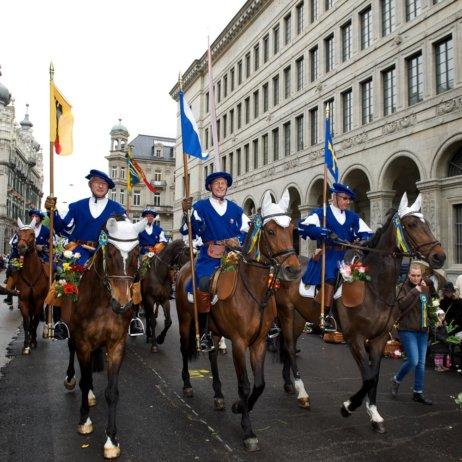 Sechseläuten Frühlingsfest Zürich Reiter