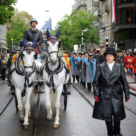 Sechseläuten Frühlingsfest Zürich Kutsche