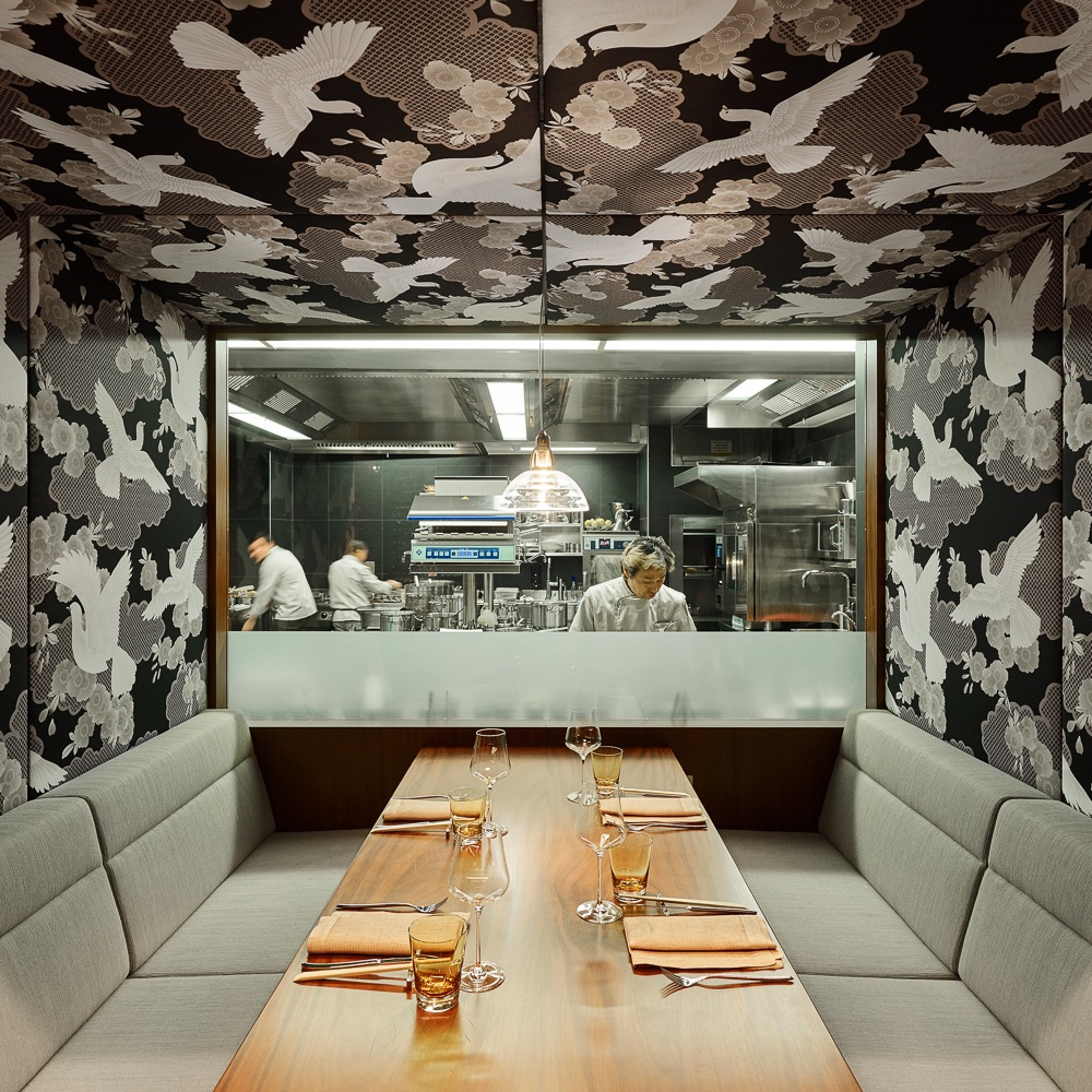 Shiki Japanisches Restaurant Wien Blick in die Küche