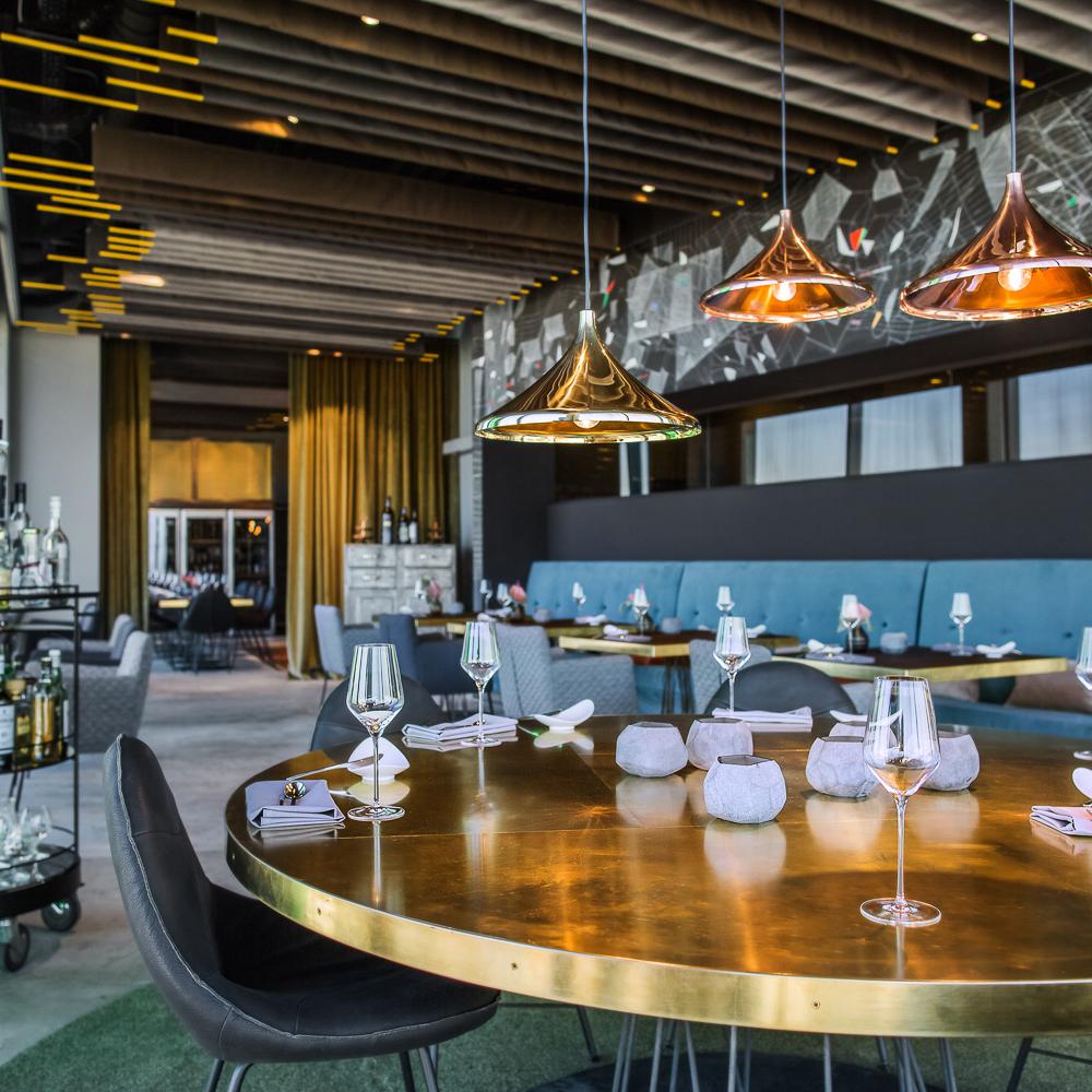 Skykitchen Restaurant im Hotel Andels Berlin Bar