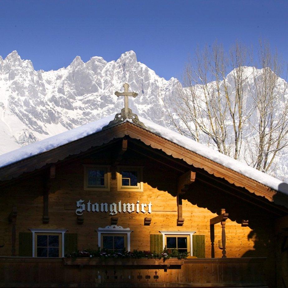 Stanglwirt Hotel Going am Wilden Kaiser Österreich Außenansicht