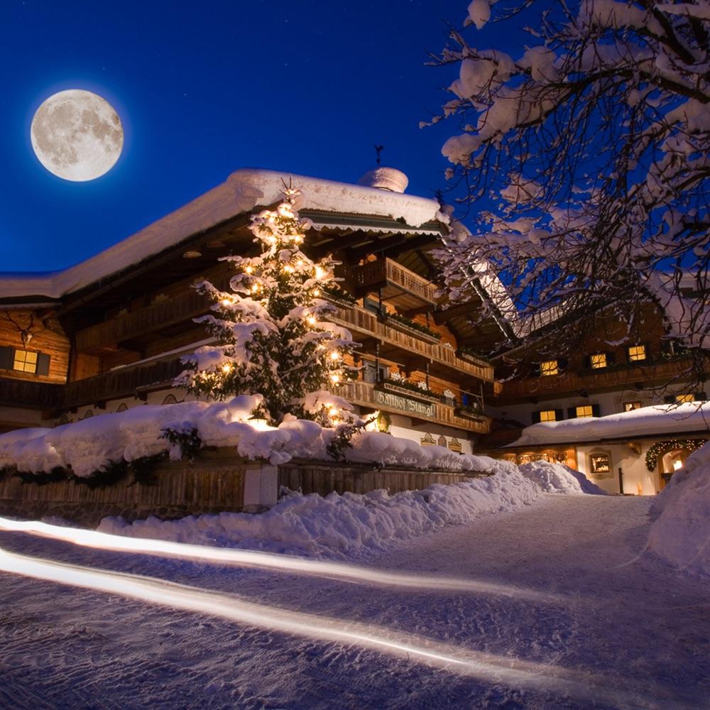 Stanglwirt Hotel Going am Wilden Kaiser Österreich Hütte