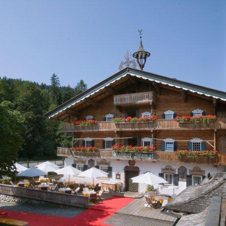 Stanglwirt Hotel Going am Wilden Kaiser Österreich Terrasse