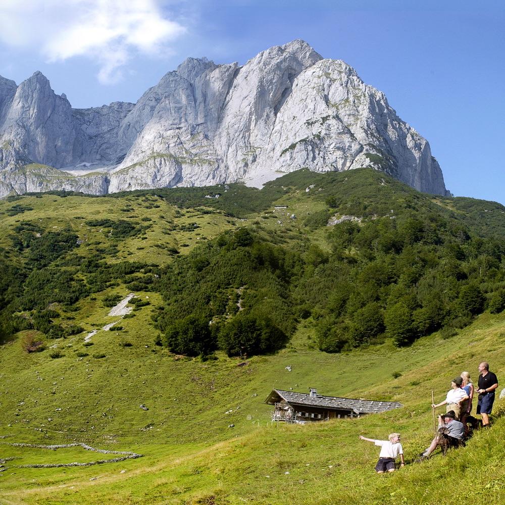 Stanglwirt Hotel Going am Wilden Kaiser Österreich Berge