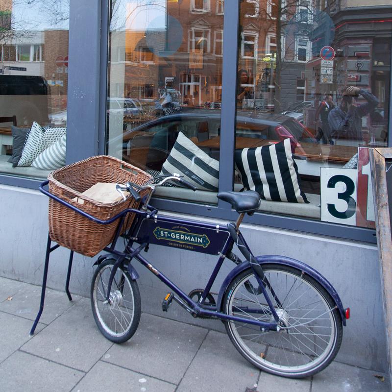 Tarterie Bistro Hamburg Fahrrad