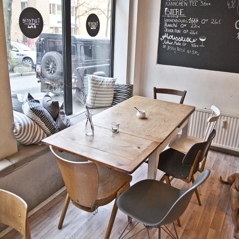 Tarterie Bistro Hamburg Tisch