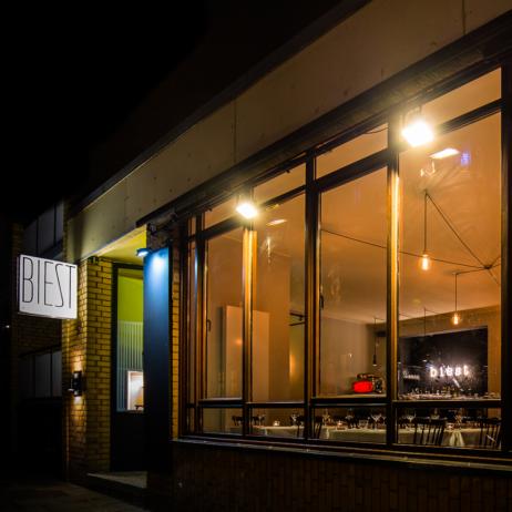 Biest Restaurant Eimsbüttel Schaufenster
