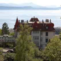 Brillantmont International School Lausanne Schweiz Landschaft