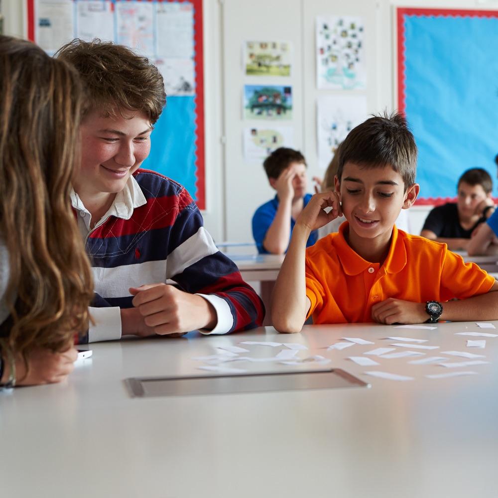 Brillantmont International School Lausanne Schweiz Unterricht