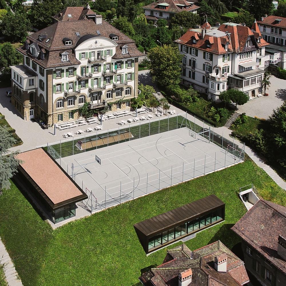 Brillantmont International School Lausanne Schweiz Gebäude