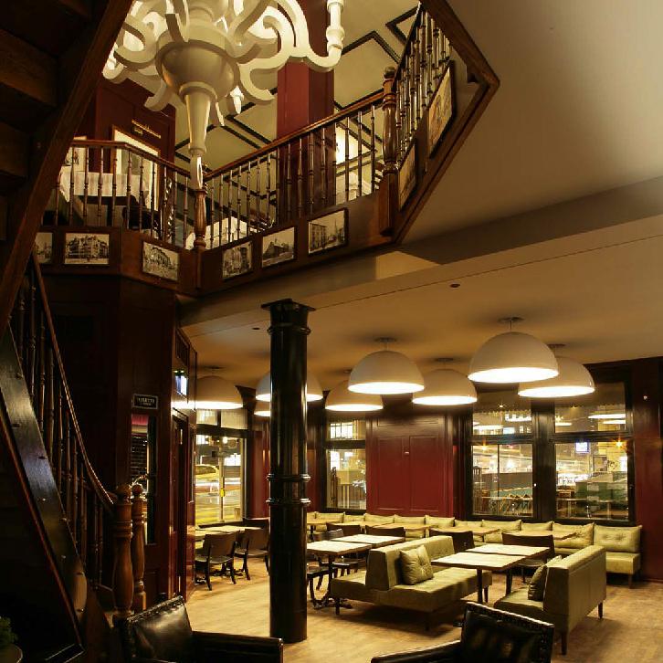 Helvetia Restaurant Bar Zürich Interieur