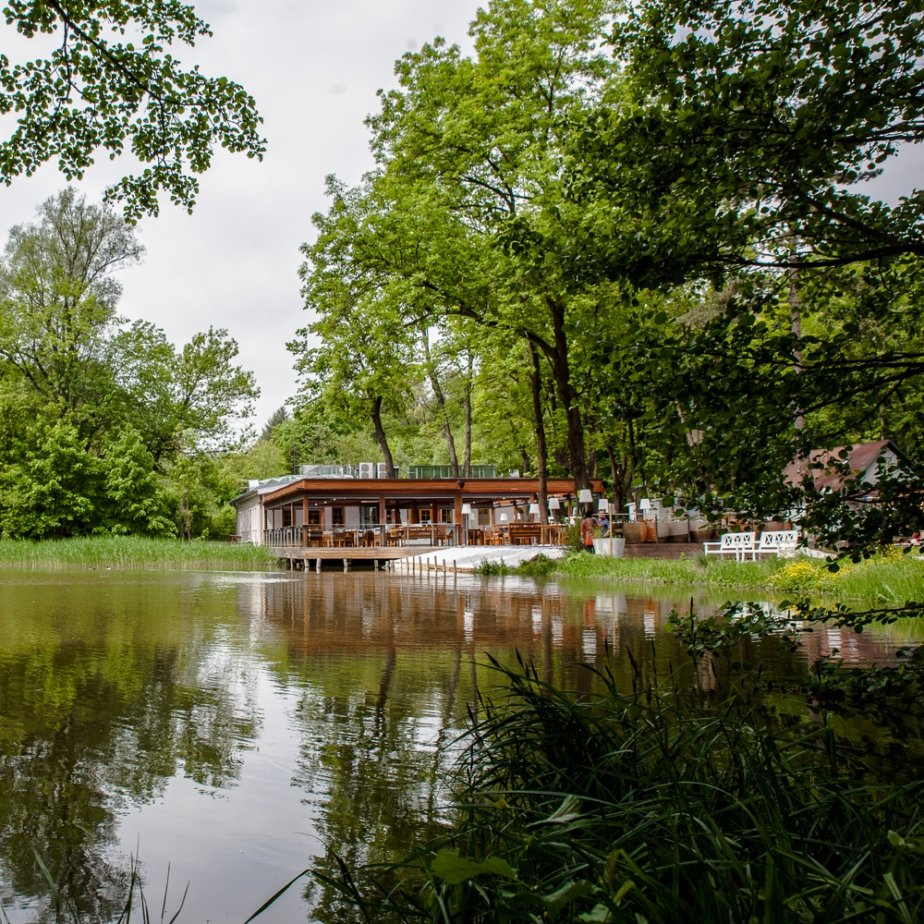 Klee Restaurant Terrasse am See Seeblick