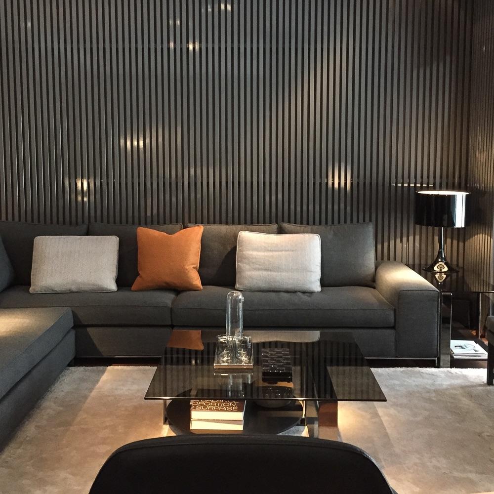 Minotti Showroom Berlin Sofa