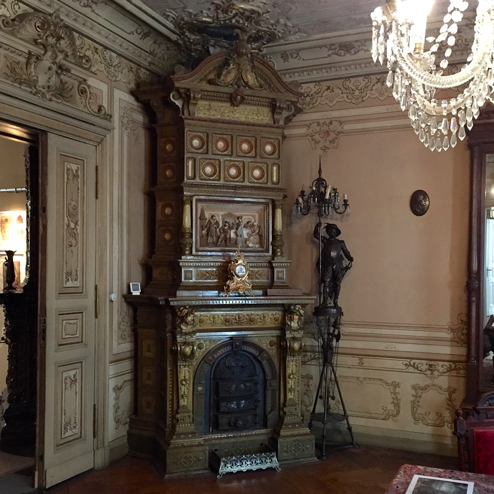 Museum Pankow Heynstraße 8 Interieur Ofen