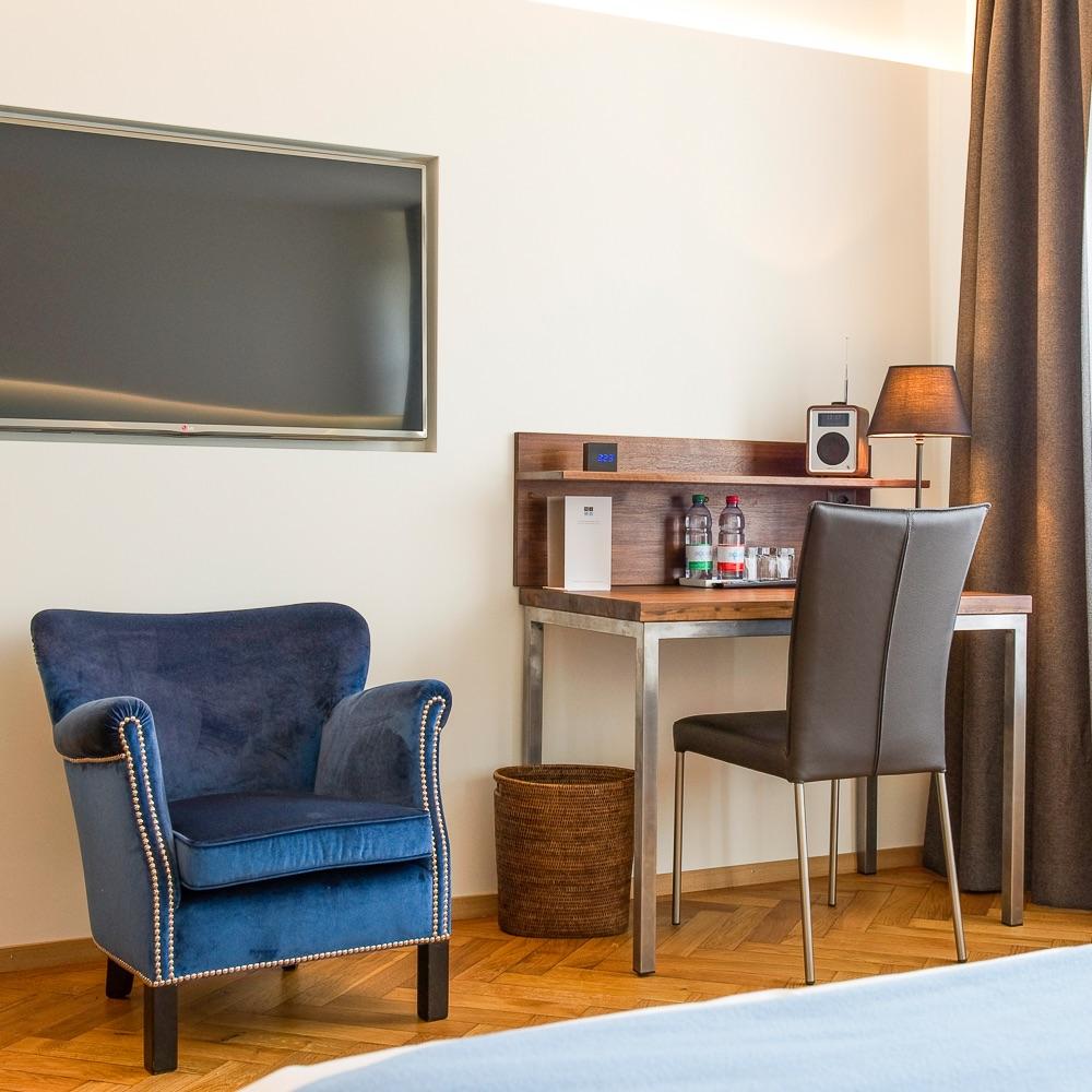 Ni Mo Hotel Zürich Schreibtisch