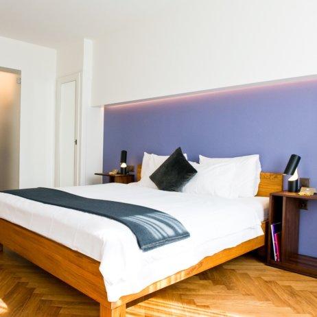 Ni Mo Hotel Zürich Doppelbett