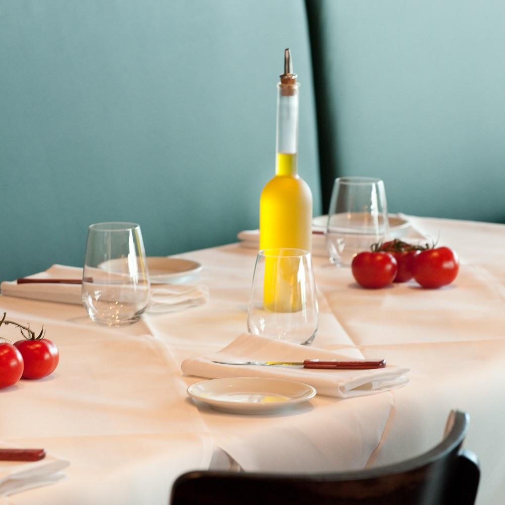 Petit Felix Restaurant Berlin Gedeckter Tisch