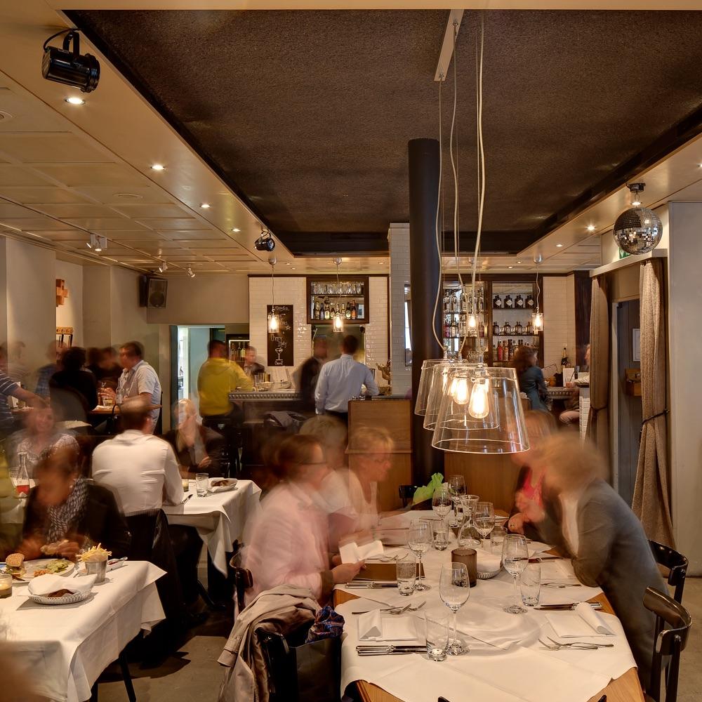 Rosalys Restaurant Zürich Einrichtung