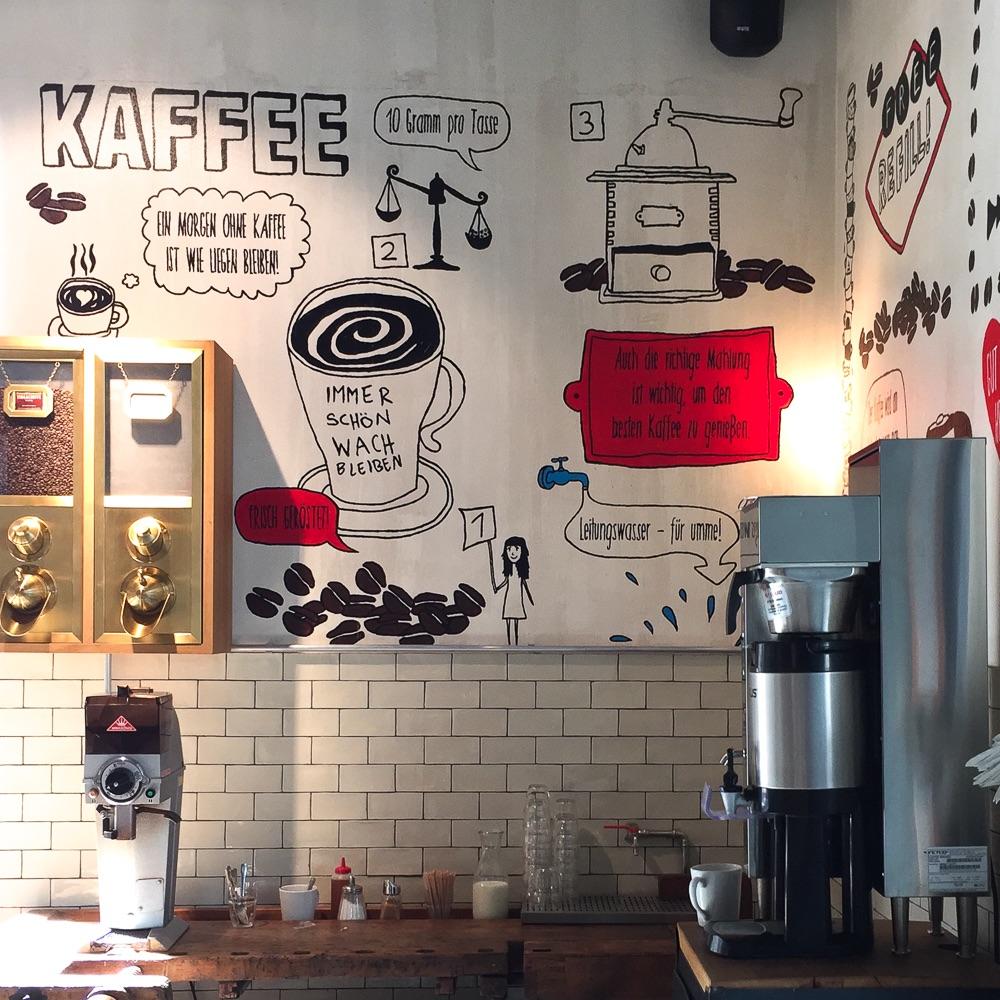 Spreegold Cafe Restaurant Berlin Kaffee