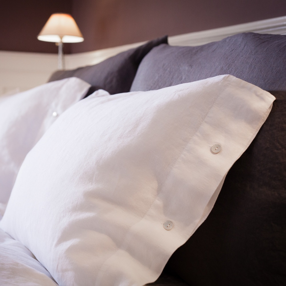 The Linen Company Leinen Wäsche Kissenbezüge