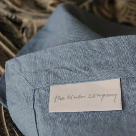 The Linen Company Leinen Wäsche Label