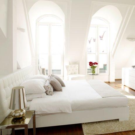 Vision Apartments Wien Schlafzimmer