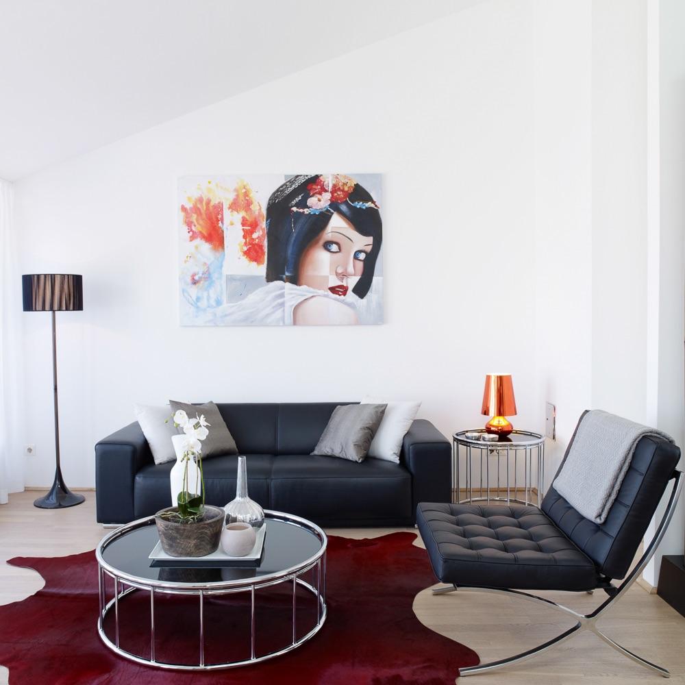 Vision Apartments Wien Sofa und Sessel