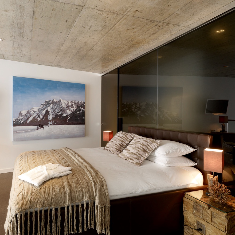 Vision Apartments Zürich Doppelbett
