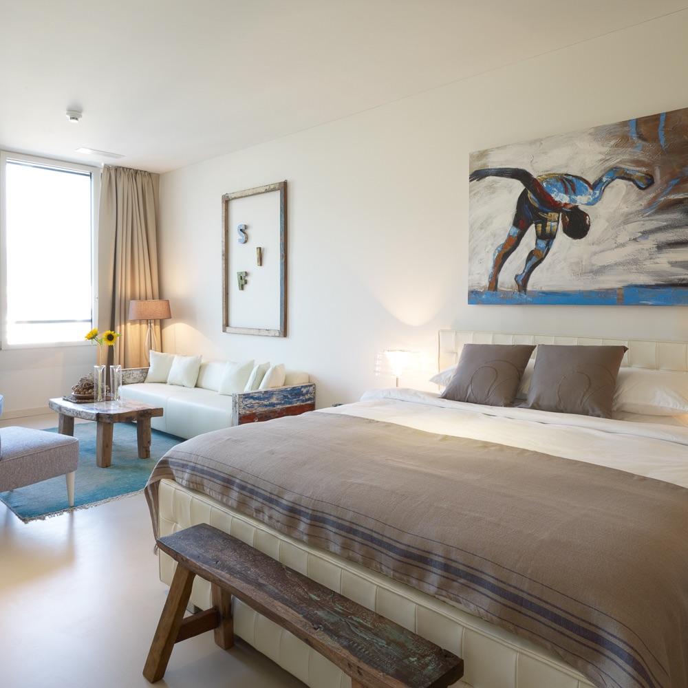 Vision Apartments Zürich Schlafbereich