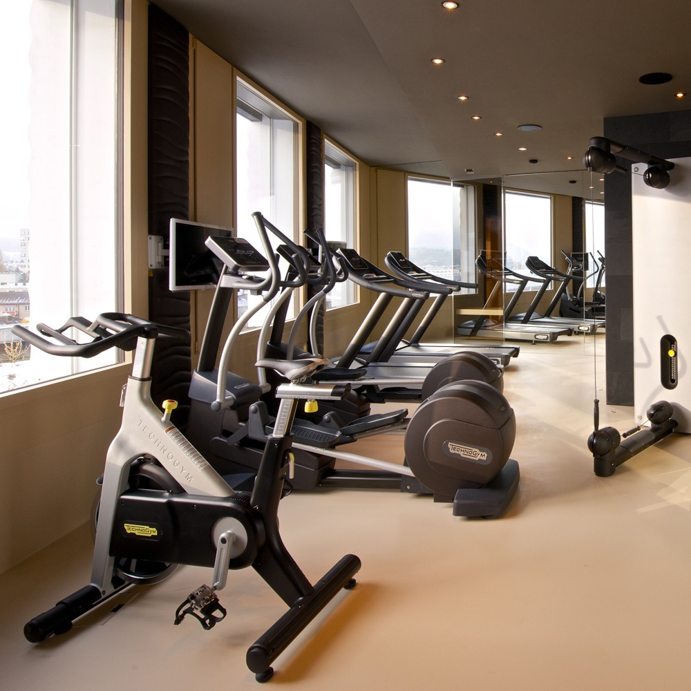 Vision Apartments Wien Fitnessstudio