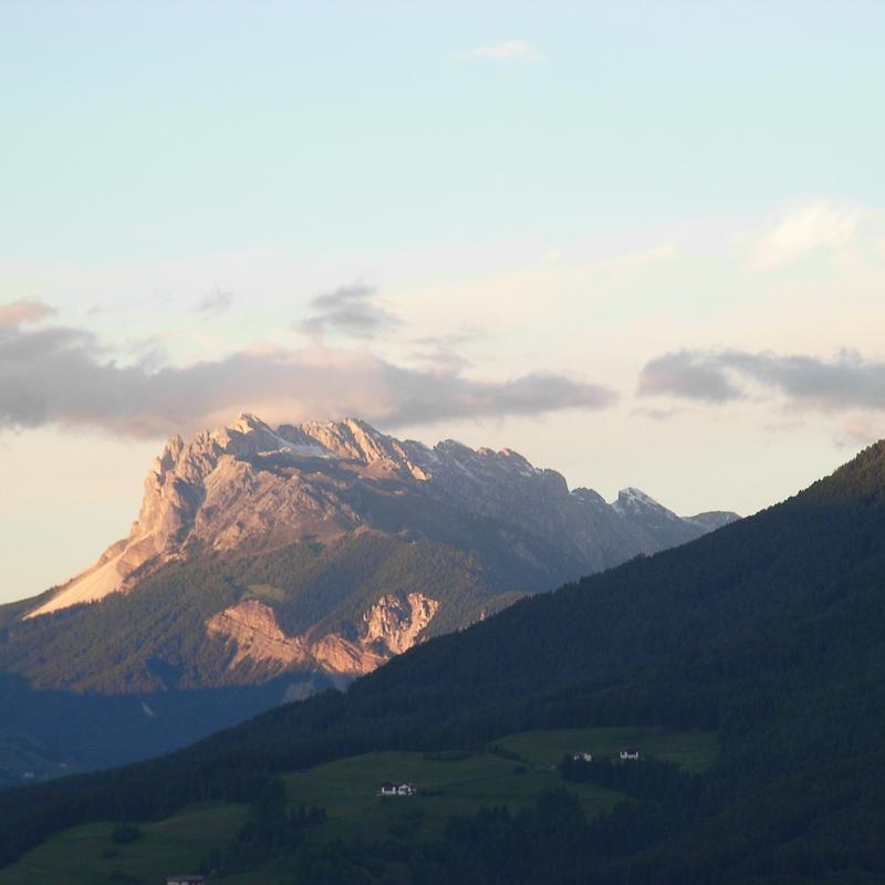 Bad Dreikirchen Gasthof Südtirol Barbian Berge