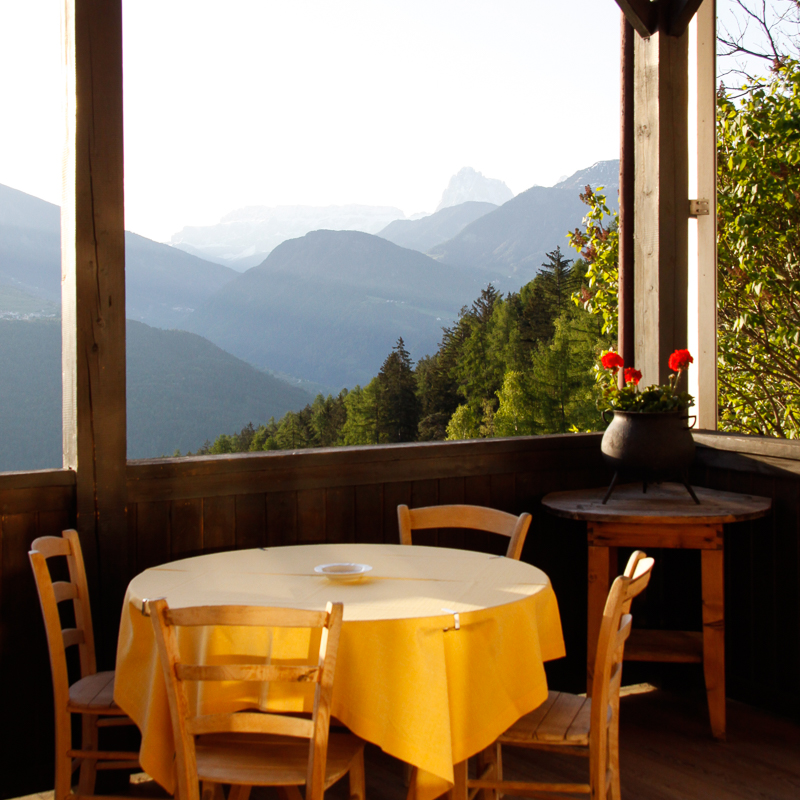 Bad Dreikirchen Gasthof Südtirol Barbian Aussicht