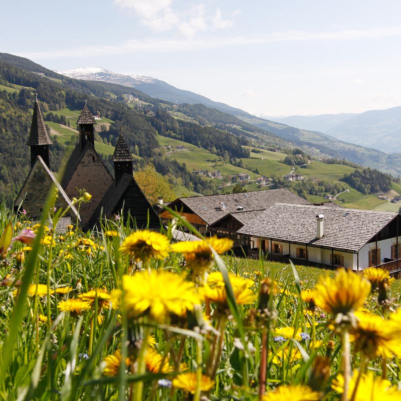 Bad Dreikirchen Gasthof Südtirol Barbian Alm