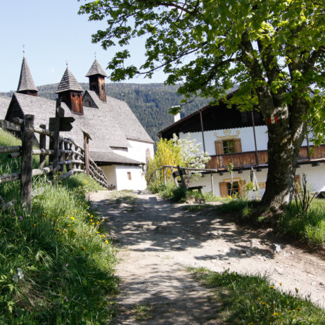 Bad Dreikirchen Gasthof Südtirol Barbian Landschaft