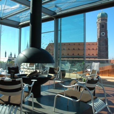 Bayerischer Hof Luxushotel München Blue Spa Lounge