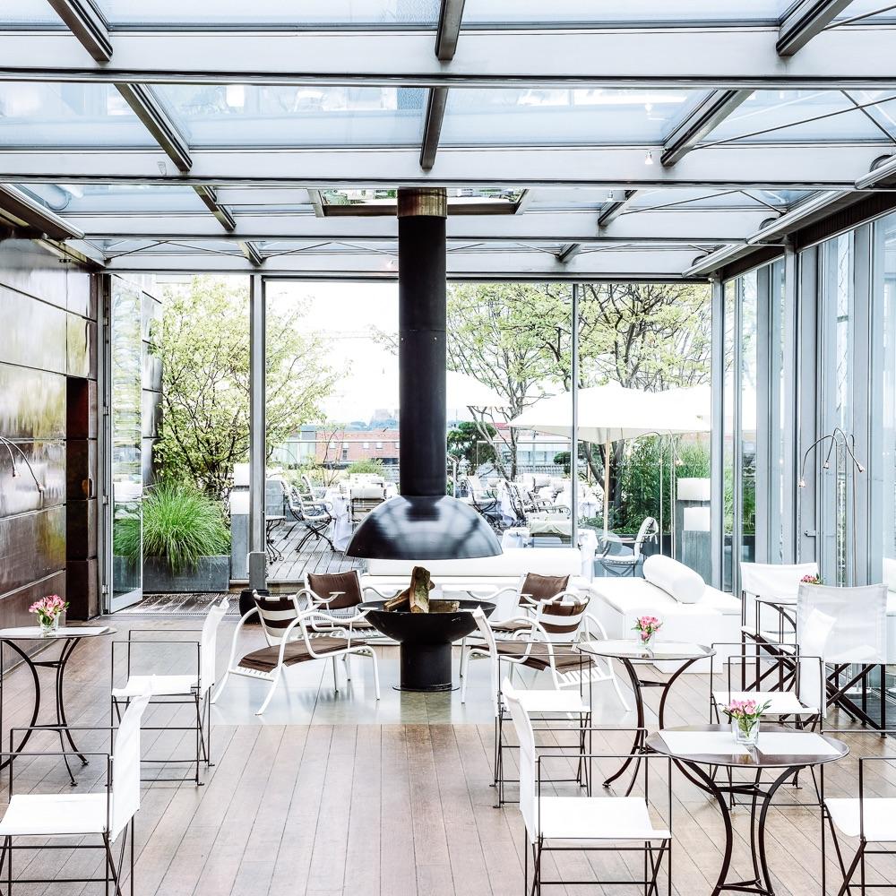 Bayerischer Hof Luxushotel München Blue Spa Lounge Restaurant