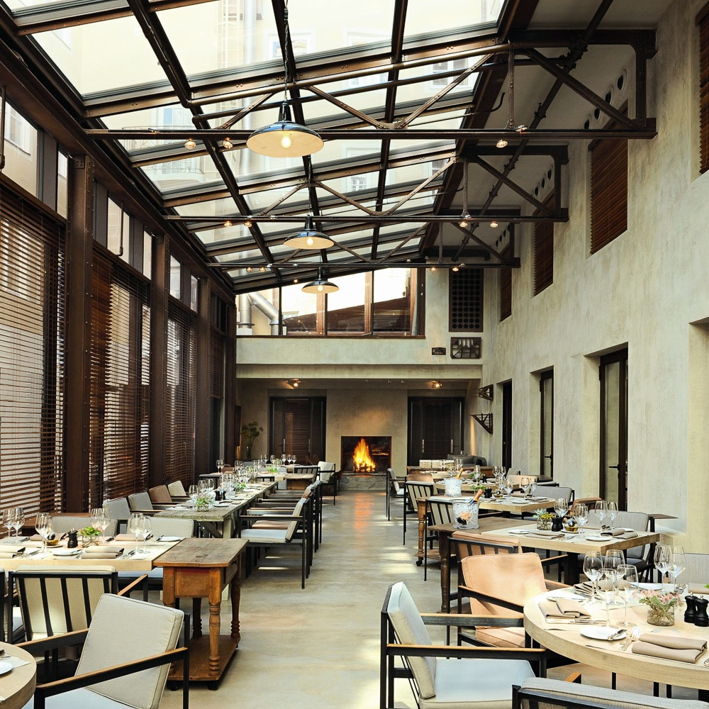 Bayerischer Hof Luxushotel München Restaurant
