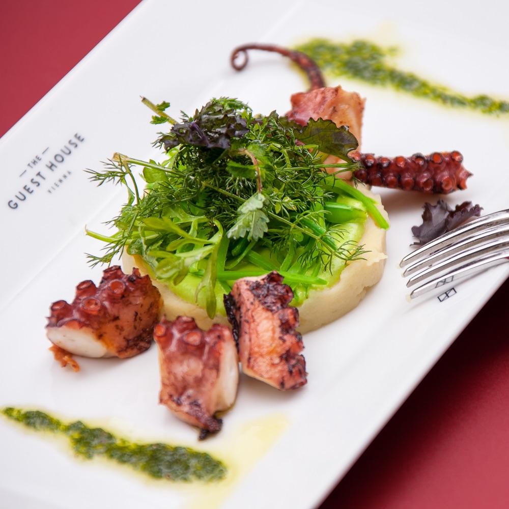Restaurant Guest House Wien Tintenfisch