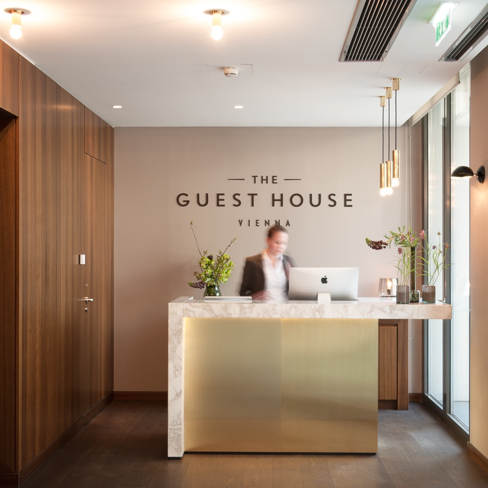 the guest house vienna design hotel wien wien creme guides. Black Bedroom Furniture Sets. Home Design Ideas