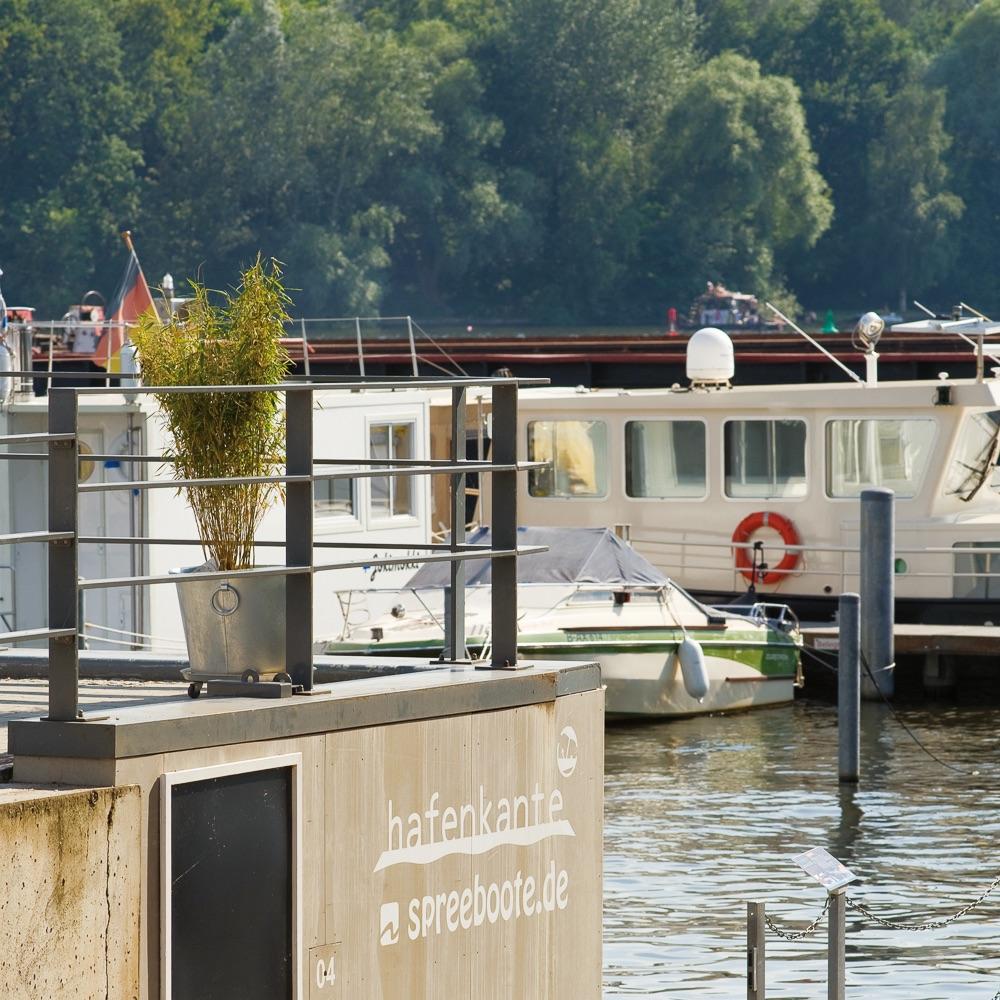 Hafenküche Hafenkante Biergarten Rummelsburg Hafen