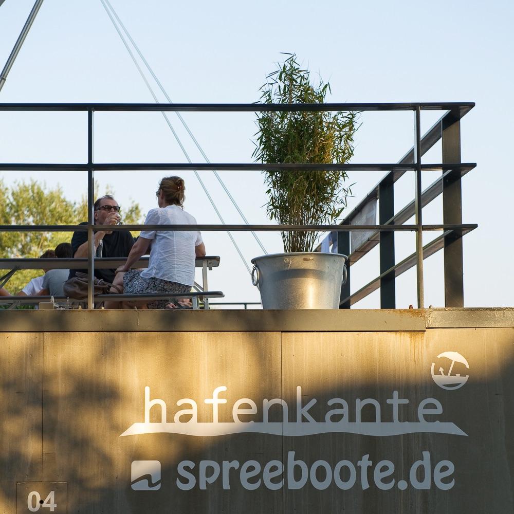 Hafenküche Hafenkante Biergarten Rummelsburg Terrasse