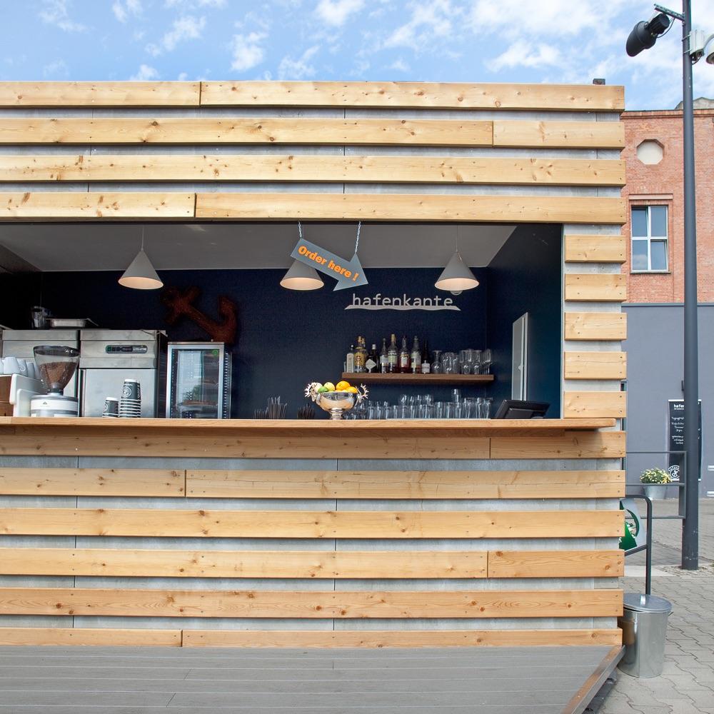Hafenküche Hafenkante Biergarten Rummelsburg Bar