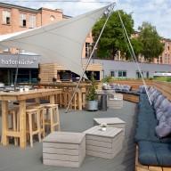 Hafenküche – Maritimer Biergarten an der Spree eröffnet