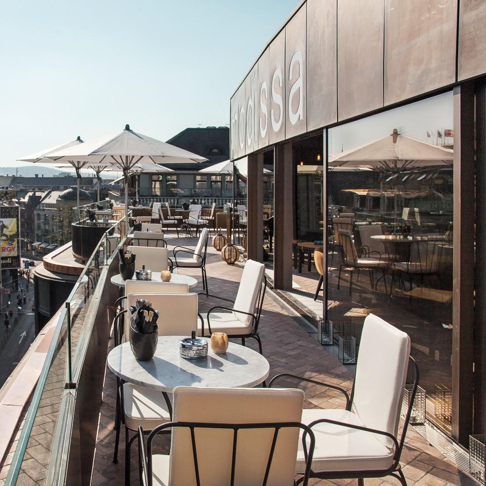 Rooftop Restaurant Zürich Aussicht